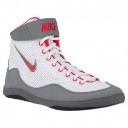 Nike Inflict 3 Grey Nike Inflict 3 - Men's White/University Red/Cool Grey
